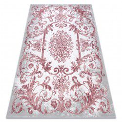 Carpet ACRYLIC USKUP 352 Ornament pink