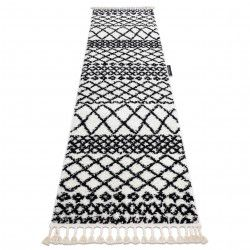 Tappeti, tappeti passatoie bianca BERBER SAFI bianca - per il soggiorno, la cucina, il corridoio