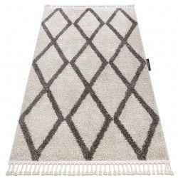 Carpet BERBER TROIK cream Fringe Berber Moroccan shaggy