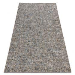 Teppich FORT SISAL 36202352 beige / blau einfache einfarbige Melange