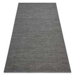 Koberec FORT SISAL 36201094 šedá holý jednobarevný melanž