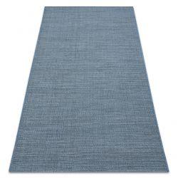 Koberec FORT SISAL 36201035 modrý jednotný jednobarevný hladký pláň