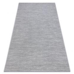 Ковер SIZAL FORT 36203053 серый однородный гладкий одноцветный