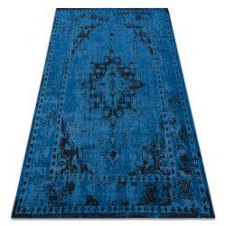 Килим VINTAGE 22205073 синій класична розетка