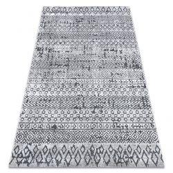 Килим Structural SIERRA G6042 плоски тъкани бежов / сметана - геометричен, етнически