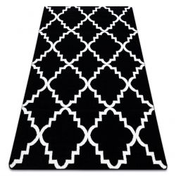 Carpet SKETCH - F343 black/white trellis