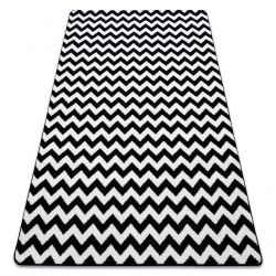 Tappeto SKETCH - F561 bianco/nero - Zigzag