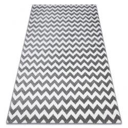 Alfombra SKETCH - F561 gris/blanco - Zigzag