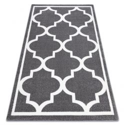 Carpet SKETCH - F730 grey /white trellis
