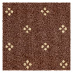 Fitted carpet CHAMBORD 044 light brown