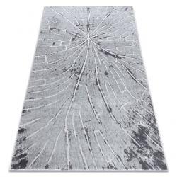 Modern MEFE carpet 2784 Tree wood - structural two levels of fleece grey