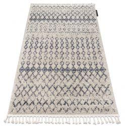 Carpet BERBER AGADIR G0522 cream / grey Fringe Berber Moroccan shaggy
