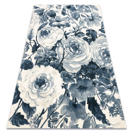 Carpet HENT 78316652 Flowers blue / beige