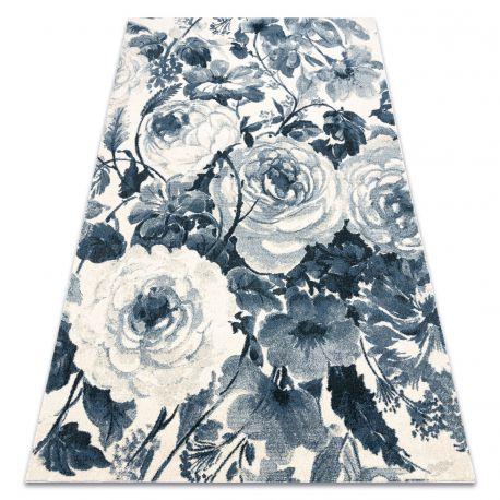 Covor HENT 78316652 Flori albastru / bej