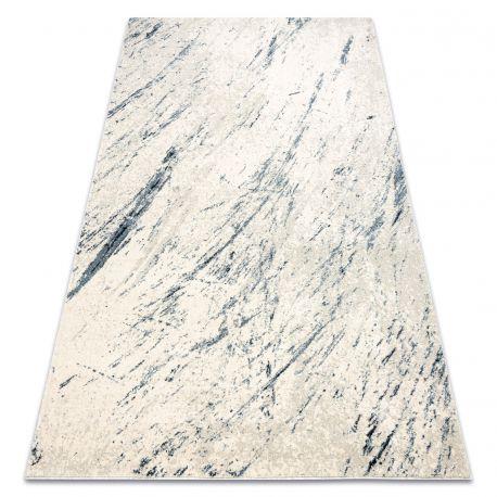 Koberec HENT 78306652 Abstrakce moderní béžový / modrý