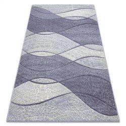 Koberec FEEL 5675/17944 Vlny béžový/fialový