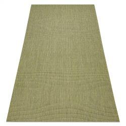 Fonott sizal flat szőnyeg 48637041 zöld