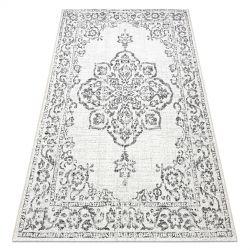 Koberec COLOR 47295960 SISAL Ornament krém / šedá