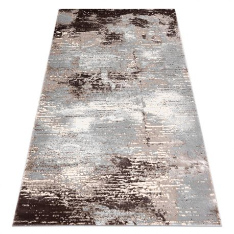 Tappeto OPERA 0W8502 C83 32 Astrazione - Structural due livelli di pile beige / grigio