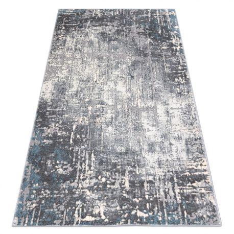 килим OPERA 0W9782 C85 25 - Structural два рівні флісу сірий / синій