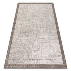 TAPPETO DI SPAGO SIZAL FLOORLUX 20401 Telaio champagne / taupe