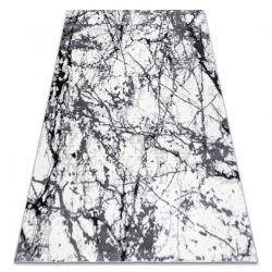 Dywan nowoczesny COZY 8871 Marble, Marmur - Strukturalny, dwa poziomy runa szary