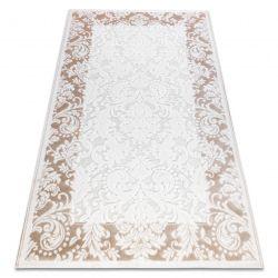 Teppich ACRYL YAZZ 3511 ORNAMENT, RAHMEN elfenbein / beige