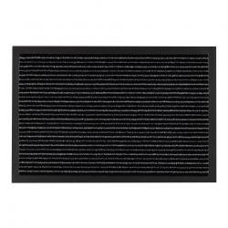 Придверний килим прорезинений TANGO сірий
