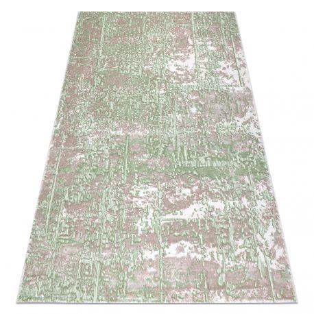 Carpet OPERA 0W9792 C89 57 - structural two levels of fleece beige / green