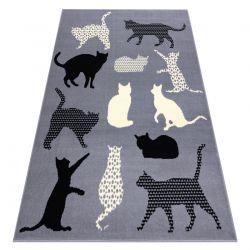Koberec BCF FLASH Cats 3996 - kočky, koťátka