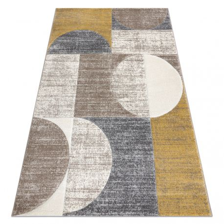 Carpet SAMPLE BERLIN E2991 Geometric - beige