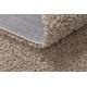 Teppich SOFFI shaggy 5cm beige