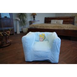 Inflatable PVC CHA DISNEY CINDRELLA blue
