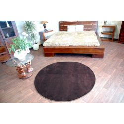 Carpet circle ULTRA brown