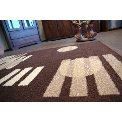 Teppich KARAMELL LAVAZZA braun