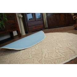 Carpet circle MESSINA 035 cream