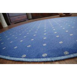 Teppich kreis CHIC 178 blau