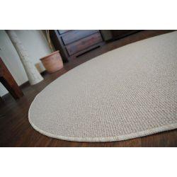 Teppich kreis MODENA 70 cremig