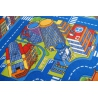 Baby-Teppich ULICZKI BIG CITY blau