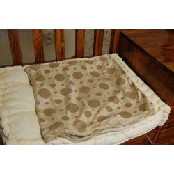 Pillowcase CIRCLES beige
