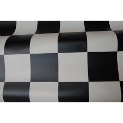 Geschäumter PVC-Bodenbelag SPIRIT 120 schachbrett