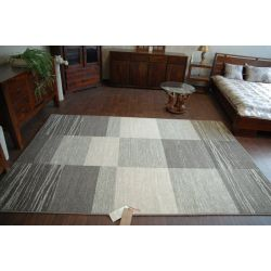 Teppich NATURAL SPLIT grau