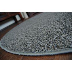 Teppich kreis GLITTER 166 grau