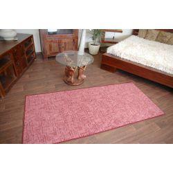 Kasbar szőnyegpadló bordó