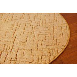 Carpet circle KASBAR gold