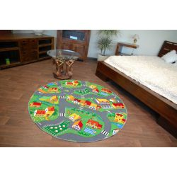 Tapis enfant CERCLE LITTLE GOLIATH PETIT GOLIATH - velours