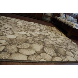 Teppich NATURAL LIDO dunkel beige
