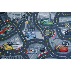 Moqueta DISNEY CARS 97 color ceniza