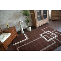 Carpet JAZZY CONTY dark brown
