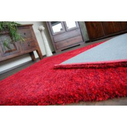 Teppich SHAGGY HARMONY rot